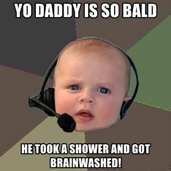 Yo Daddy So Bald