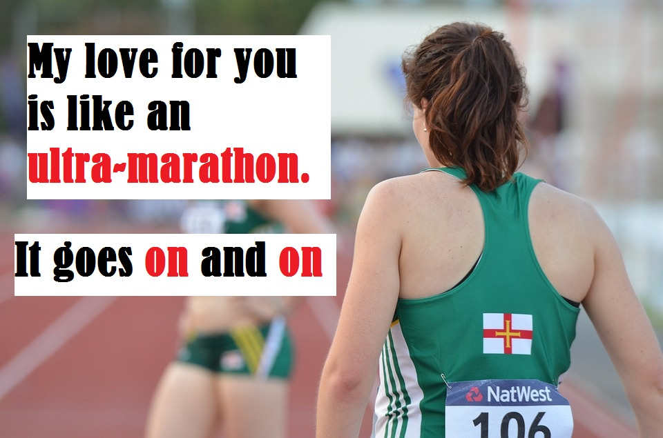 Runners,Triathletes,joggers pick up lines