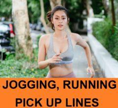 jogging pick up lines