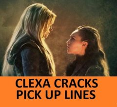 [Top 40] Clexa Pick Up Lines. 1