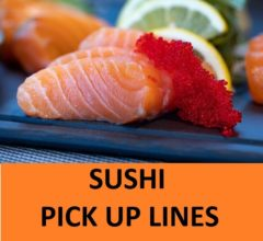 [Top 20] Sushi Pick Up Lines To Impress Your Date! 8